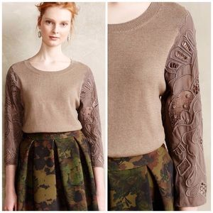 Anthropologie Knitted & Knotted Didi Sweater S